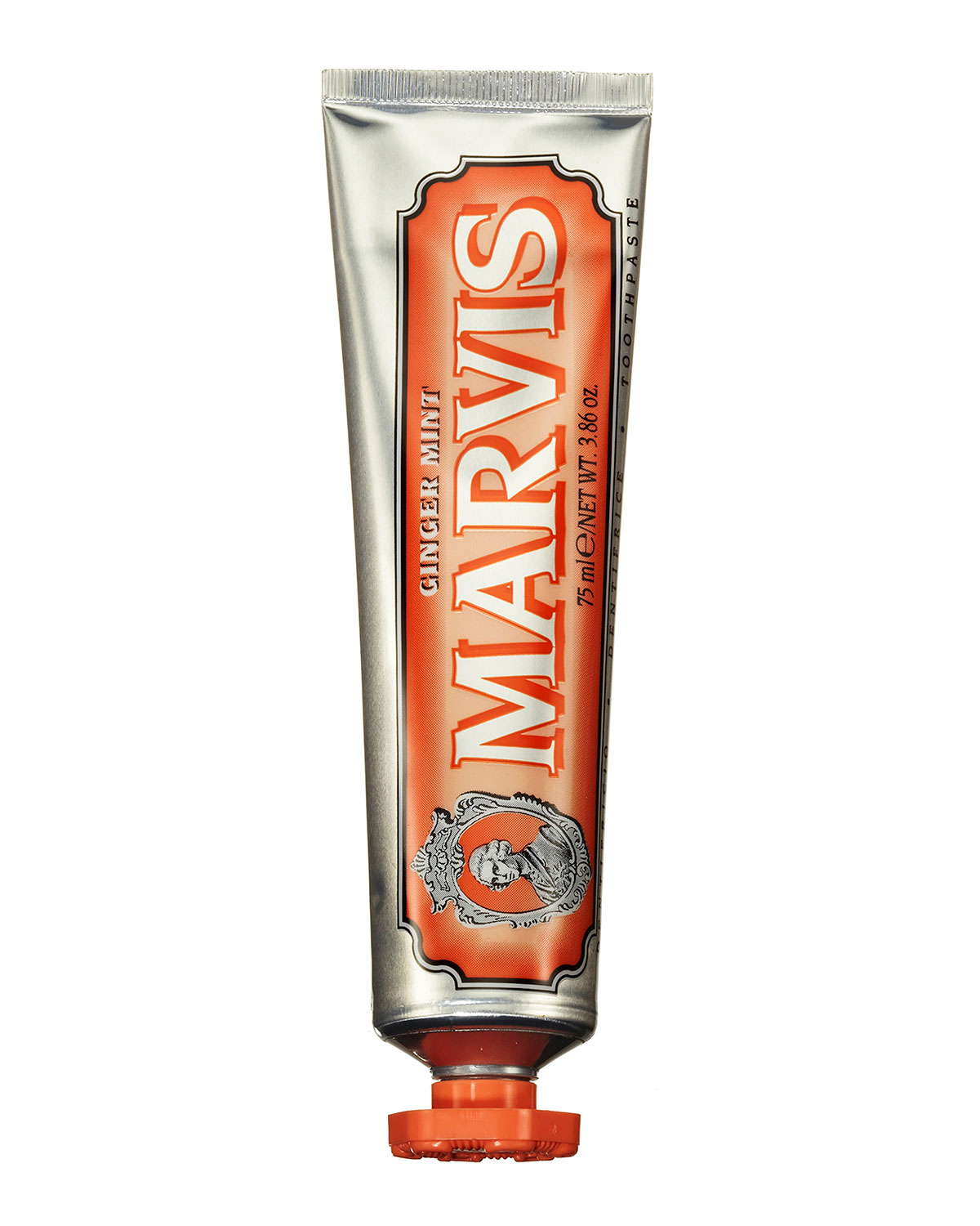 Marvis GINGER MINT TOOTHPASTE, 2.5 OZ./ 75 ML