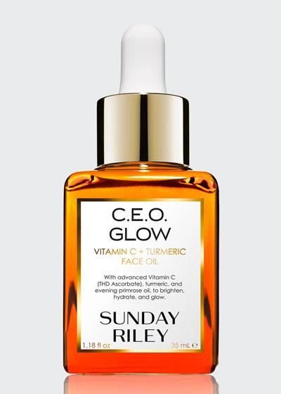 C.E.O. Glow Vitamin C + Turmeric Face Oil, 35 mL