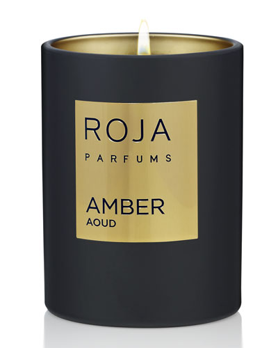 Amber Aoud Candle, 7.8 oz./ 220 g