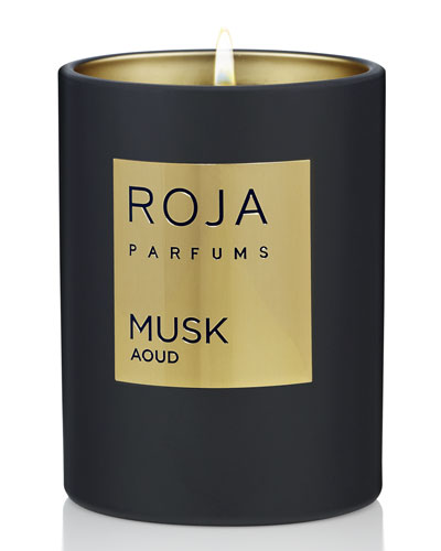 Musk Aoud Candle, 7.8 oz./ 220 g