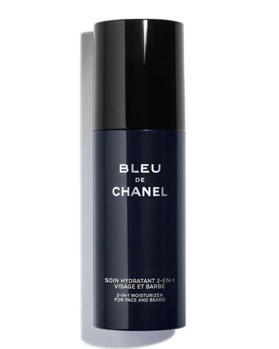<b>BLEU DE CHANEL</b><br>2-in-1 Moisturizer for Face and Beard