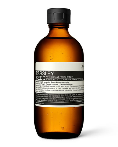 Parsley Seed Anti-Oxidant Facial Toner, 6.7 oz./ 200 mL
