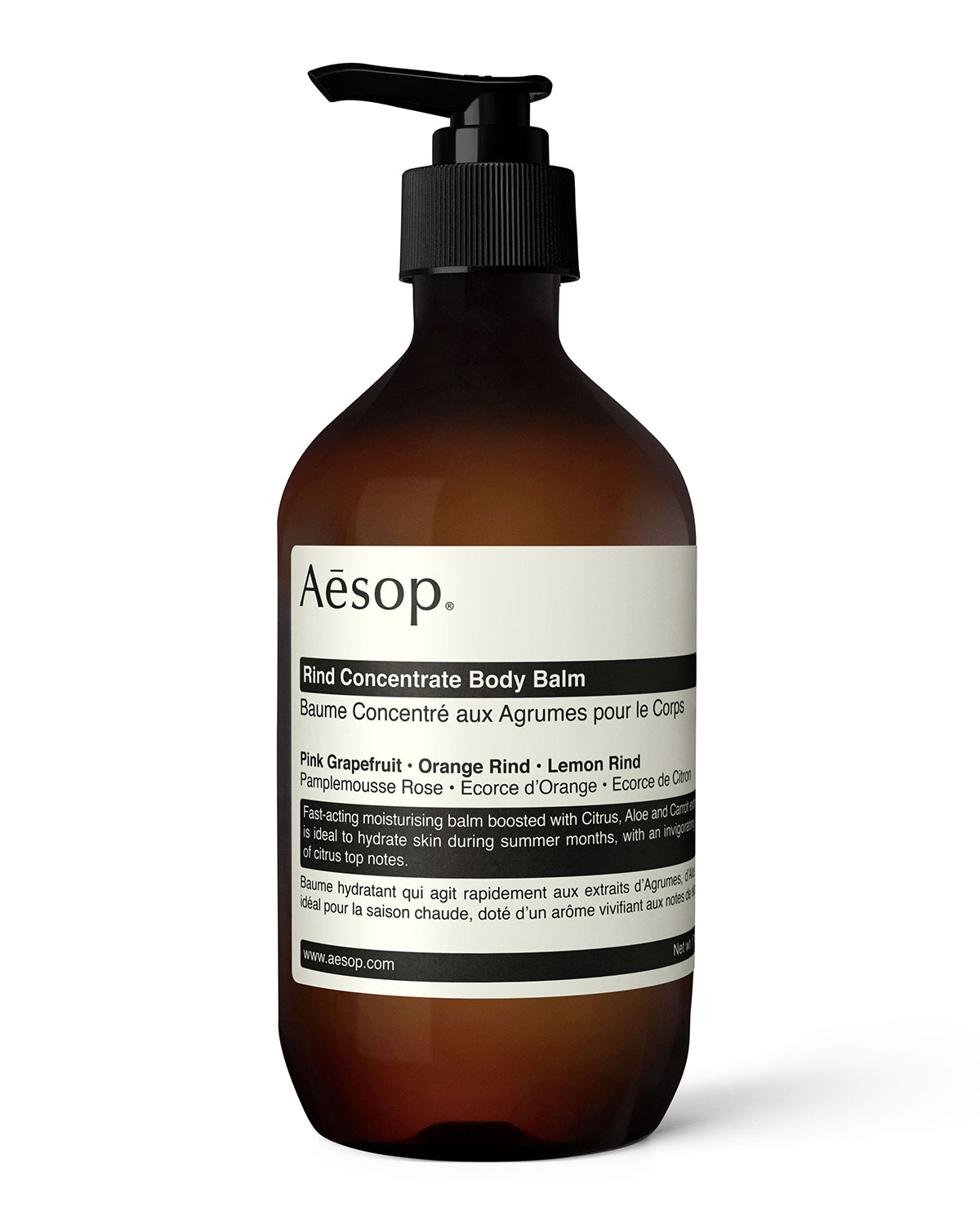 Aesop RIND CONCENTRATE BODY BALM, 16.9 OZ./ 500 ML