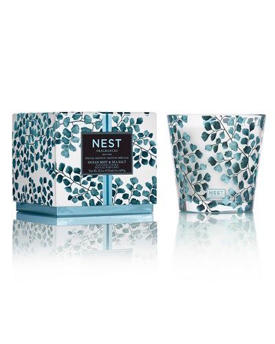 Ocean Mist & Sea Salt Specialty 3-Wick Candle, 21.2 oz./ 600 g
