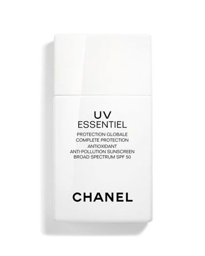 UV Essentiel Complete Protection Antioxidant Anti-Pollution Sunscreen Broad Spectrum SPF 50, 1 ...