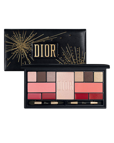 Limited Edition Sparkling Couture Palette - Color & Shine Essentials for Face, Eyes & Lips