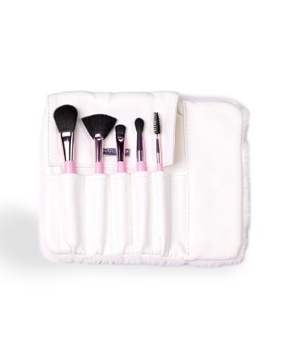 Kids' Frosted Fronds Makeup Brush Set