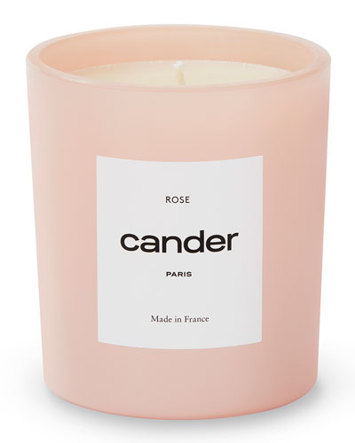 Rose Candle,  8.8 oz./250 g