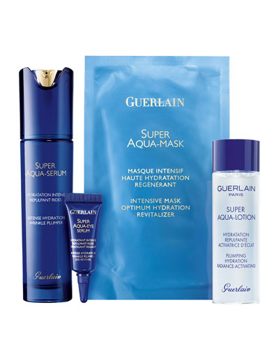 Super Aqua Hydrating Skincare Value Set ($252 Value)