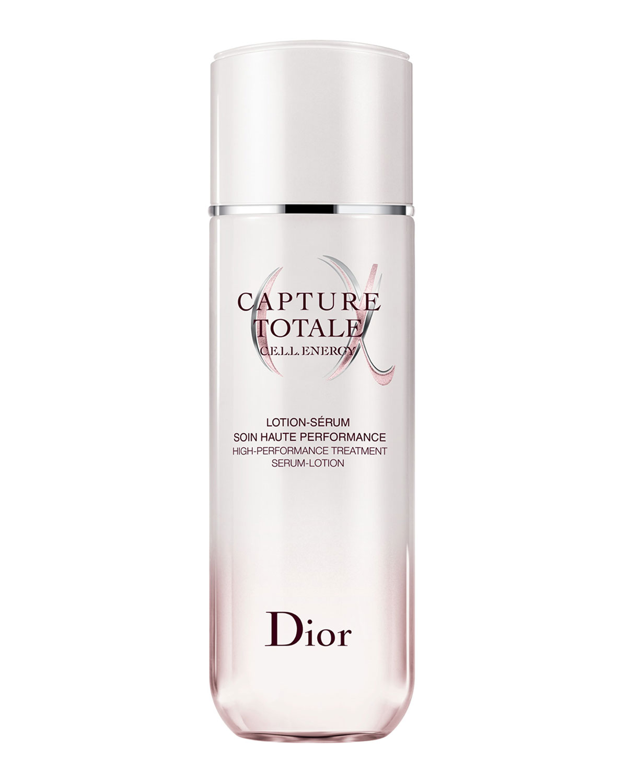 Dior CAPTURE TOTALE C.E.L.L. ENERGY HIGH-PERFORMANCE TREATMENT SERUM-LOTION, 2.5 OZ./ 175 ML