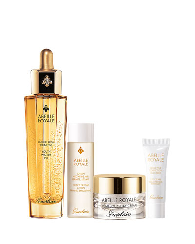 <b>Abeille Royale</b><br>Anti-Aging Facial Watery Oil Value Set (<b>$185 Value</b>)