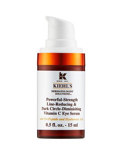 Powerful Strength Line-Reducing & Dark Circle-Diminishing Vitamin C Eye Serum, 0.5 oz. / 15 ml