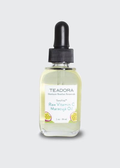 TerraVital Raw Vitamin C Maracuja Oil. 1 oz./ 30 mL