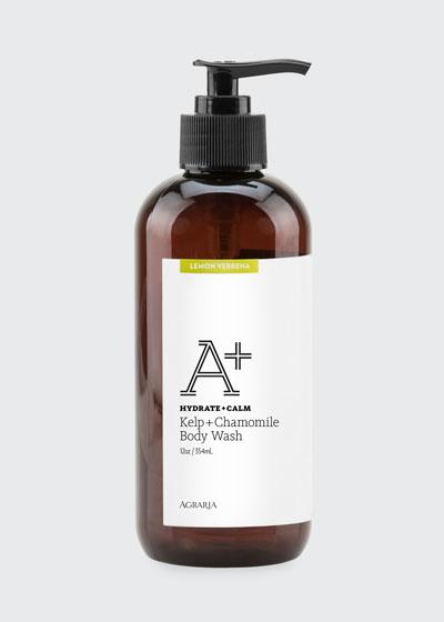 Lemon Verbena A+ Kelp + Chamomile Body Wash, 12 oz./ 354 mL