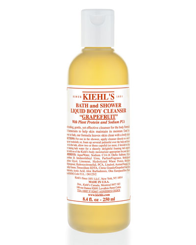 Grapefruit Bath & Shower Liquid Body Cleanser 8oz