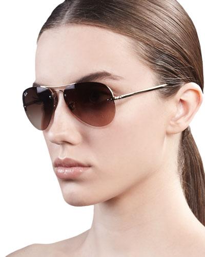 Original Aviator Sunglasses, Golden