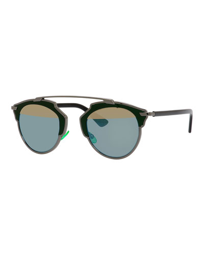 So Real Metal Sunglasses