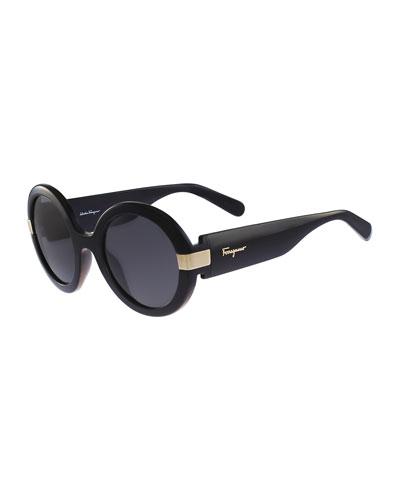 Gancio Round Sunglasses