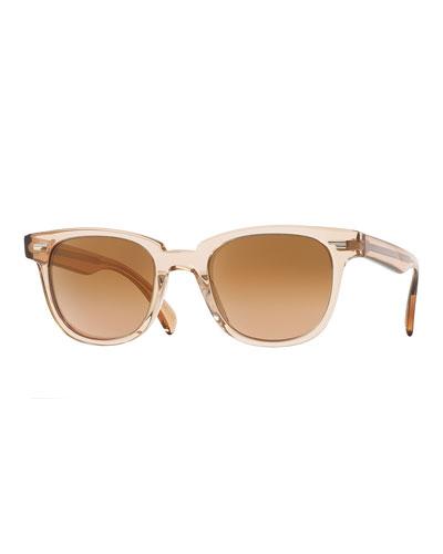 Masek Universal-Fit Square Sunglasses, Pink