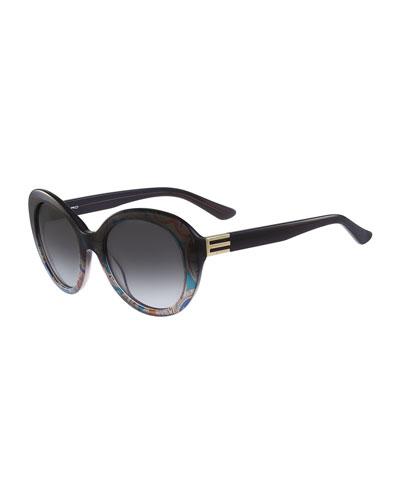 Round Paisley Sunglasses