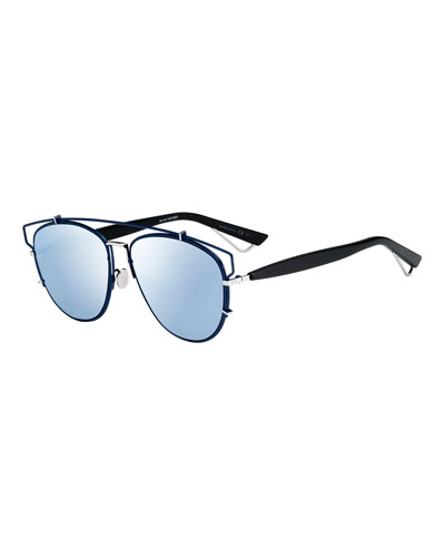 Technologic Mirrored Sunglasses