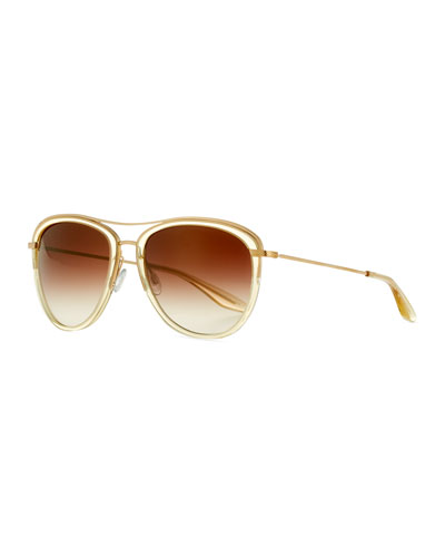 Universal Fit Aviatress Aviator Sunglasses, Neutral