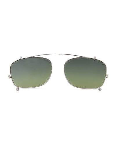 Clip-On Sunglasses for Optical Frames, Brown