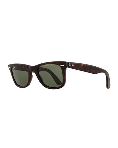Classic Wayfarer Sunglasses, Tortoise