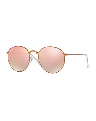 Icons Round Flash Folding Sunglasses