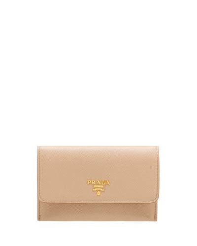 Saffiano Wallet/Card Case