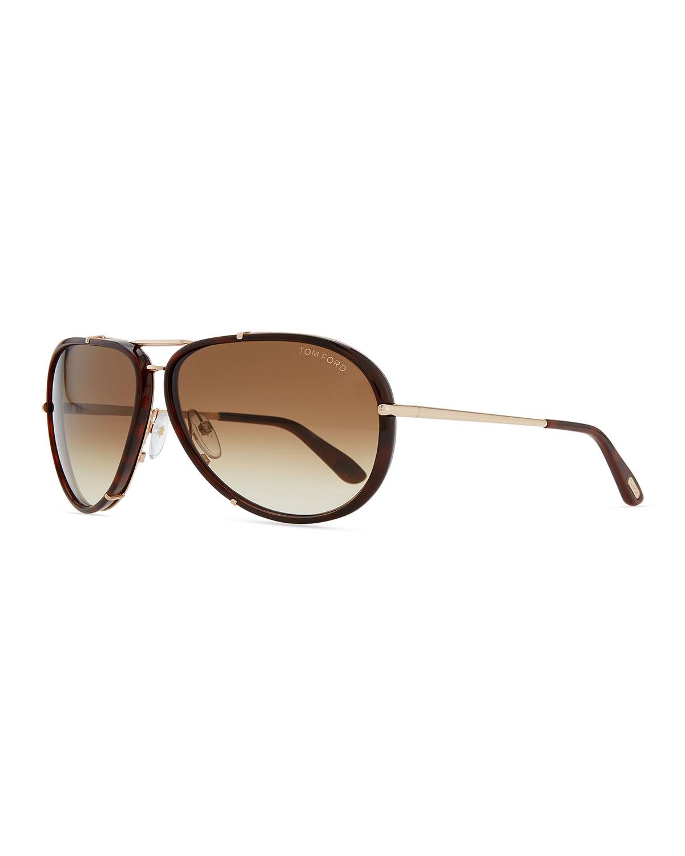 Cyrille Aviator Sunglasses