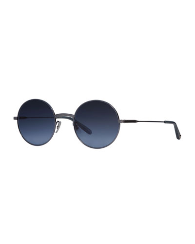 Seville Round Metal Sunglasses