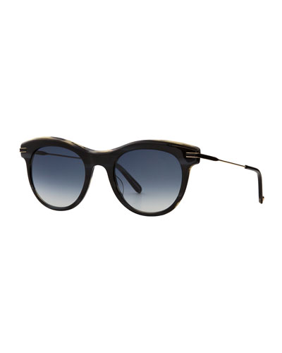 Andalusia Gradient Cat-Eye Sunglasses
