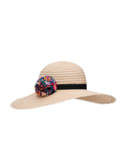 Honey Floppy Sun Hat, Neutral