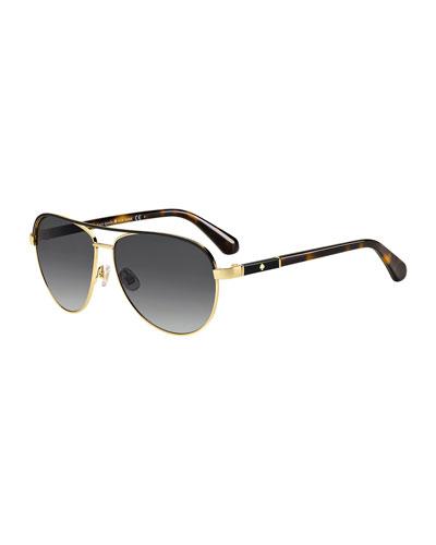 emilyann aviator sunglasses