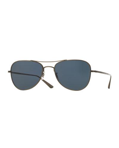 Executive Suite Photochromic Aviator Sunglasses