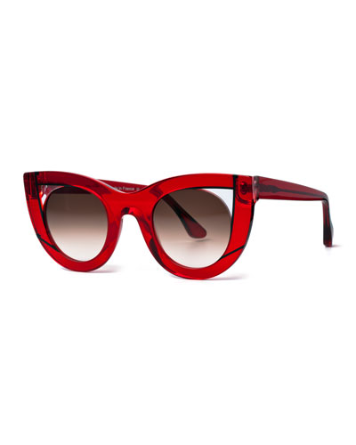 Wavvvy Acetate Cat-Eye Sunglasses