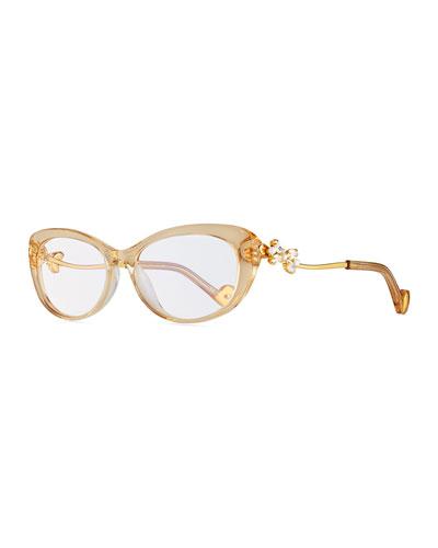 Anna-Karin Karlsson Dear Ling Ling Cat-Eye Optical Frames,