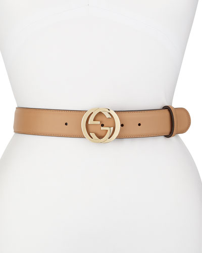 Wide GG-Buckle Belt