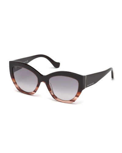 Chunky Cat-Eye Sunglasses