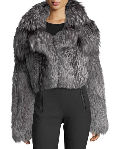 Fox Fur Shrug Jacket