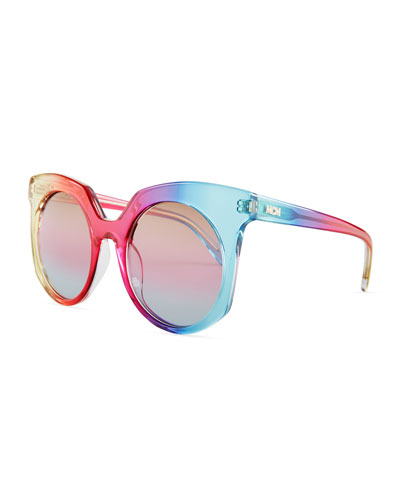 Punk Rainbow Cat-Eye Sunglasses