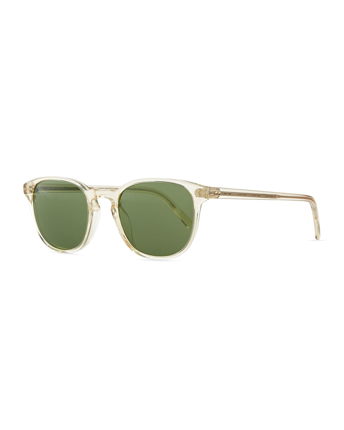 Oliver Peoples Sunglasses FAIRMONT MEN'S ACETATE SUNGLASSES, YELLOW
