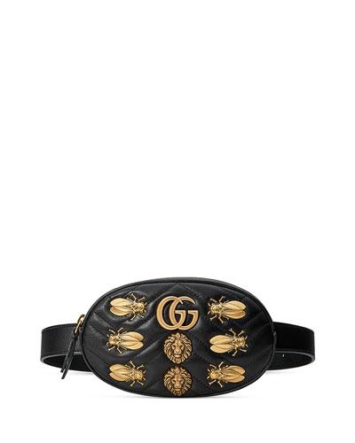 Small GG Marmont 2.0 Bug Belt Bag