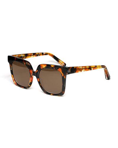 Rae Square Acetate Sunglasses