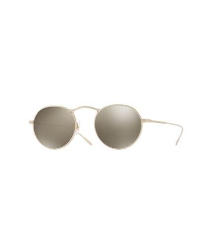 M-4 30th Mirrored Round Sunglasses