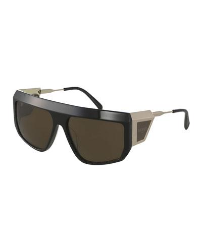Wrap Shield Sunglasses
