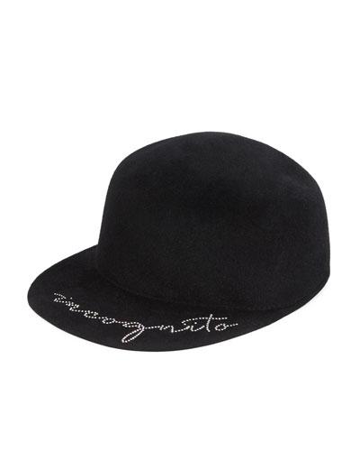 Incognito Wool Baseball Hat