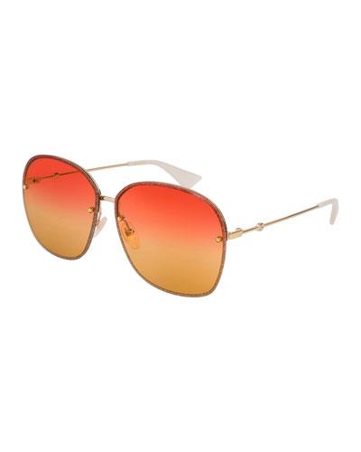 Gucci Frame Sunglasses | bergdorfgoodman.com