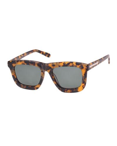 62bc53dcbd Deep Worship Square Monochromatic Sunglasses